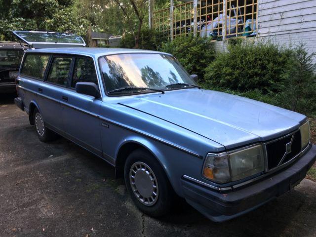 Buy used 1991 Blue Volvo 240 Wagon 4-Door in Longmeadow ...   1991 Volvo 240 Wagon