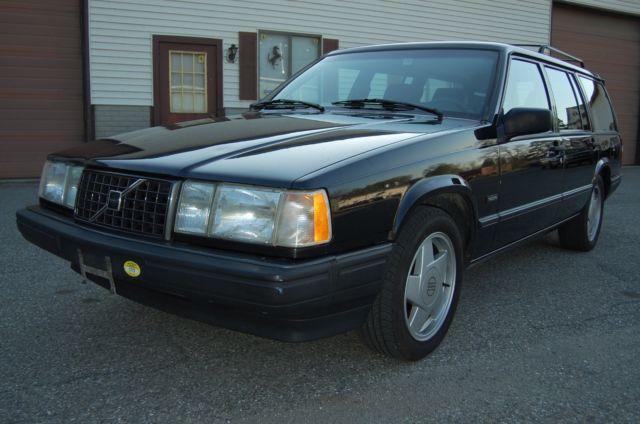 1991 Volvo 940 Turbo Wagon Black