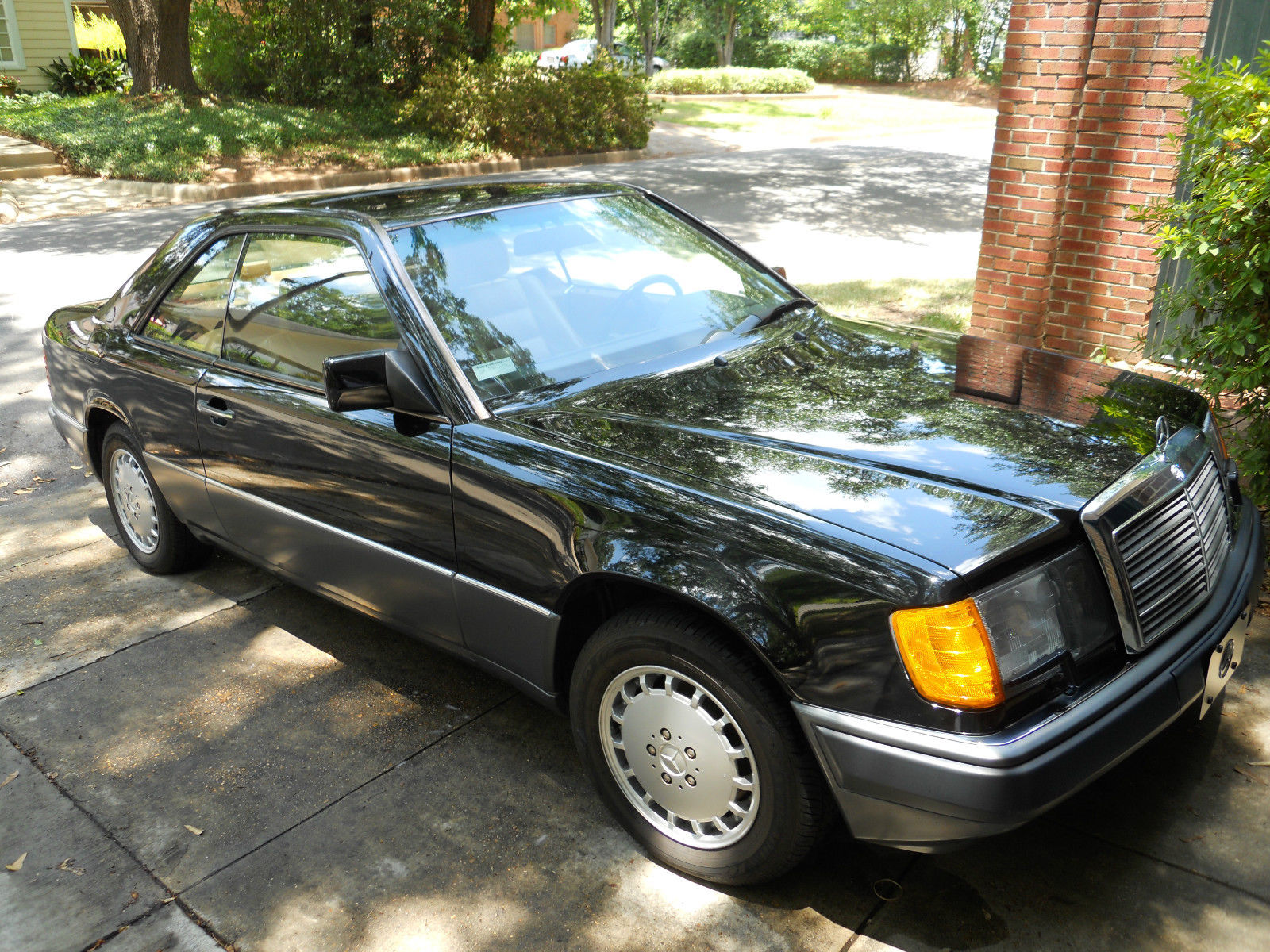 1992 black mercedes benz 300ce coupe 3 0l 6 cy 1 owner for Mercedes benz 1992