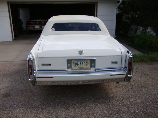 1992 Cadillac Brougham LOW MILES NO RESERVE For Sale In