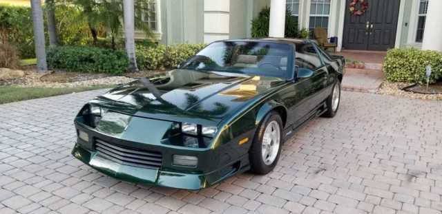 1992 Camaro Rs 25th Anniversary Heritage Green With Gold