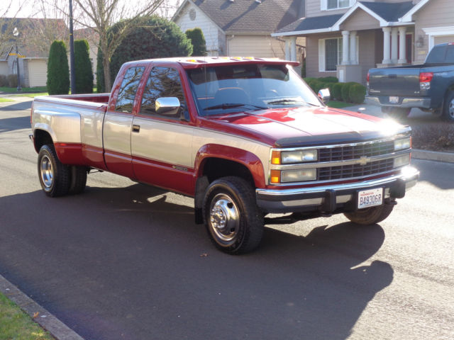 1992 chevrolet k3500 4x4 dually low miles 1993 1994 1995 1996 1997 1998 gmc for sale in. Black Bedroom Furniture Sets. Home Design Ideas