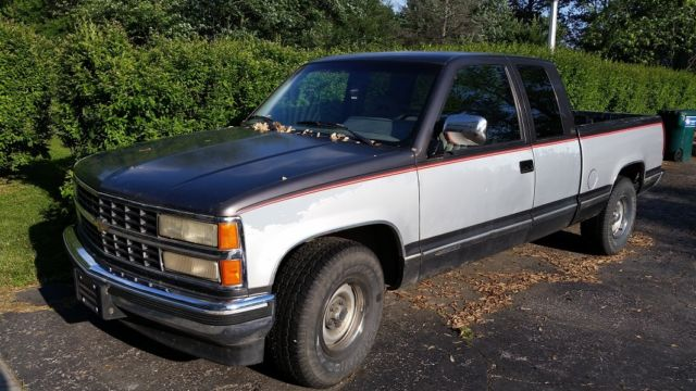 1992 chevrolet pickup 1500 extended cab 1989 1990 1991. Black Bedroom Furniture Sets. Home Design Ideas