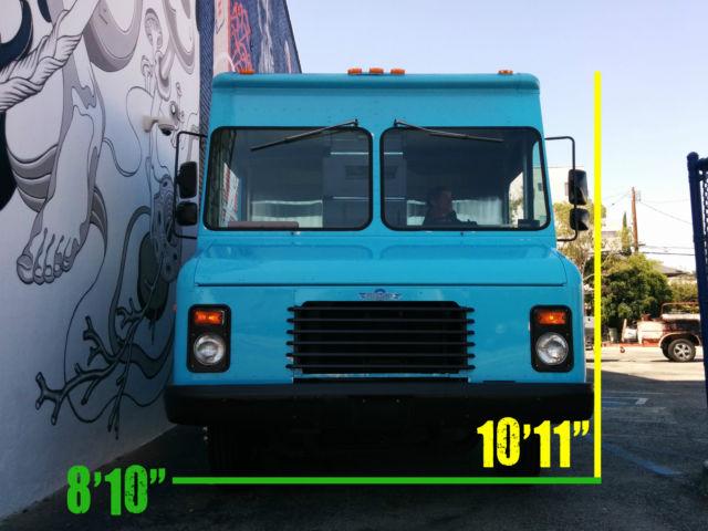 P30 Step Van For Sale >> 1992 Chevy P30 Step Van Food Ice Cream Truck RV Stepvan ...