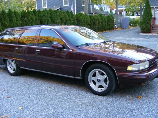 1992 Chevy Station Wagon Ss Impala Clone Hotrod