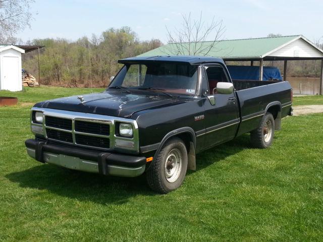 1992 Dodge D250 Cummins For Sale In Washington  West