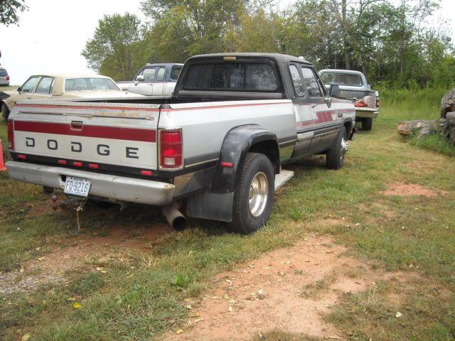 1992 Dodge D350 Dually Diesel