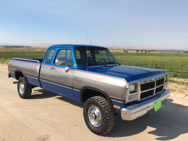 1992 Dodge Ram 2500 Cummins Turbo Diesel 4wd