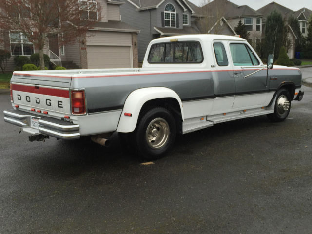 1992 dodge ram 3500 dually extra cab cummins diesel first gen only 61k low miles for sale in. Black Bedroom Furniture Sets. Home Design Ideas