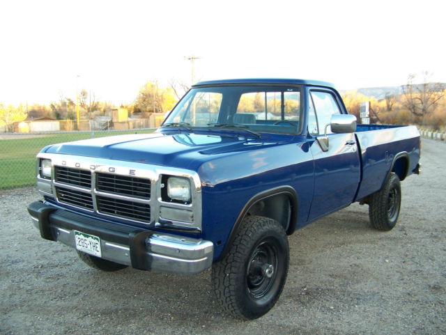 1992 dodge ram w 250 cummins turbo diesel 5 speed manual 59 000 actual miles for sale in. Black Bedroom Furniture Sets. Home Design Ideas