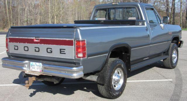 Ram 2500 Diesel For Sale >> 1992 dodge ram W250 cummins diesel for sale in Rootstown ...