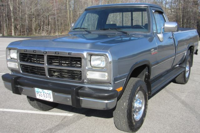 1992 dodge ram w250 cummins diesel for sale in rootstown ohio united states. Black Bedroom Furniture Sets. Home Design Ideas