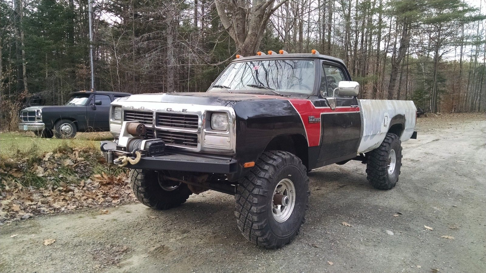 1992 Dodge W250 Cummins Diesel Lifted 5 Speed For Sale In Canaan New Hampshire United States For Sale Photos Technical Specifications Description