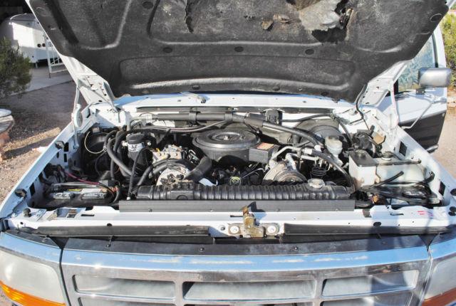 Ford F250 Diesel Mpg >> 1992 Ford F-250 7.3L IDI Diesel 4X4 XLT F250 Truck Long ...