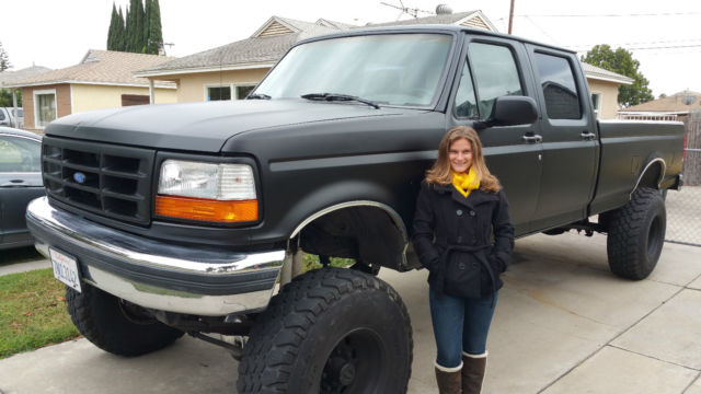"1992 Ford F-350 Crew Cab Long Bed 4x4 10"" Lift 37"" Tires for sale in Bellflower, California ..."
