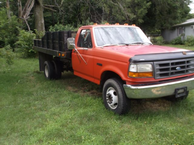 1992 Ford F350 Dump Truck Great Condition Lightly Used