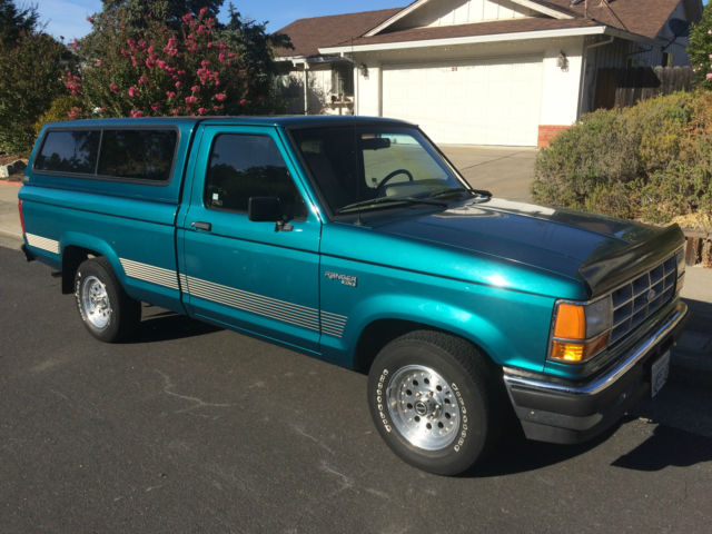 1992 Ford Ranger Xlt With Matching Shell Bedliner For Sale In Novato California United States For Sale Photos Technical Specifications Description