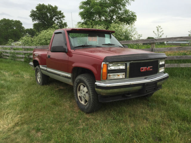 1992 gmc sierra regular cab short bed stepside 4x4 for sale in sadieville kentucky united states for sale photos technical specifications description classiccardb com