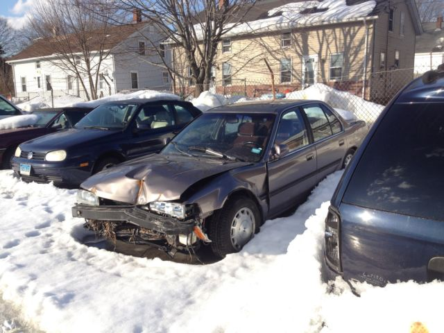 1992 Honda Accord 4 Door 5 Speed Wrecked Parts Salvage Clean Smoke Free Interior For Sale In