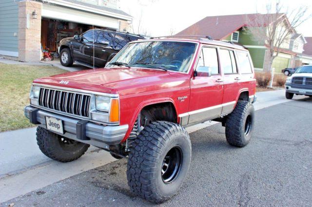 Lifted Jeep Cherokee >> 1992 Lifted Jeep Cherokee For Sale Photos Technical