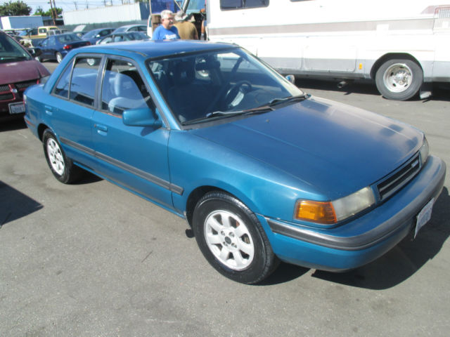 1992 mazda protege lx sedan 4 door 1 8l no reserve for sale in anaheim california united states for sale photos technical specifications description classiccardb com