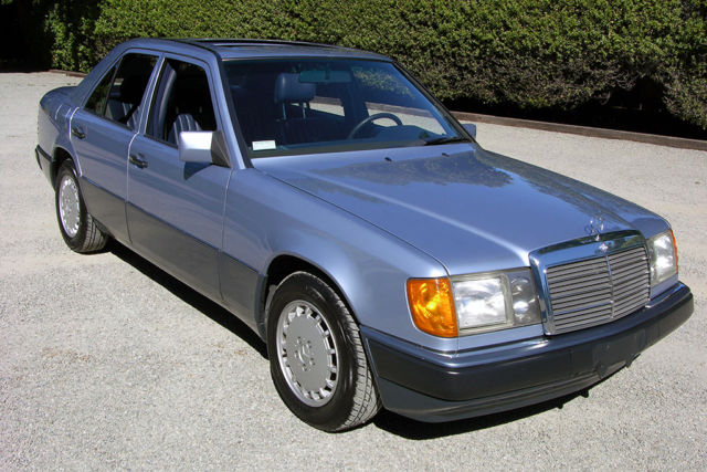 1992 mercedes 300e 2 6 27k miles museum quality 1 for Courtesy motors chico ca