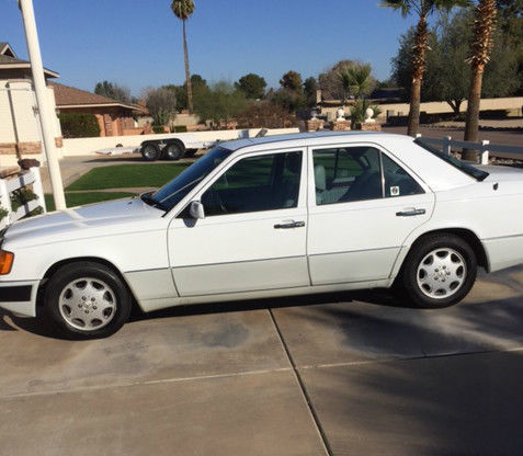 1992 mercedes 400e one owner 117k miles white by owner for 1992 mercedes benz 400e