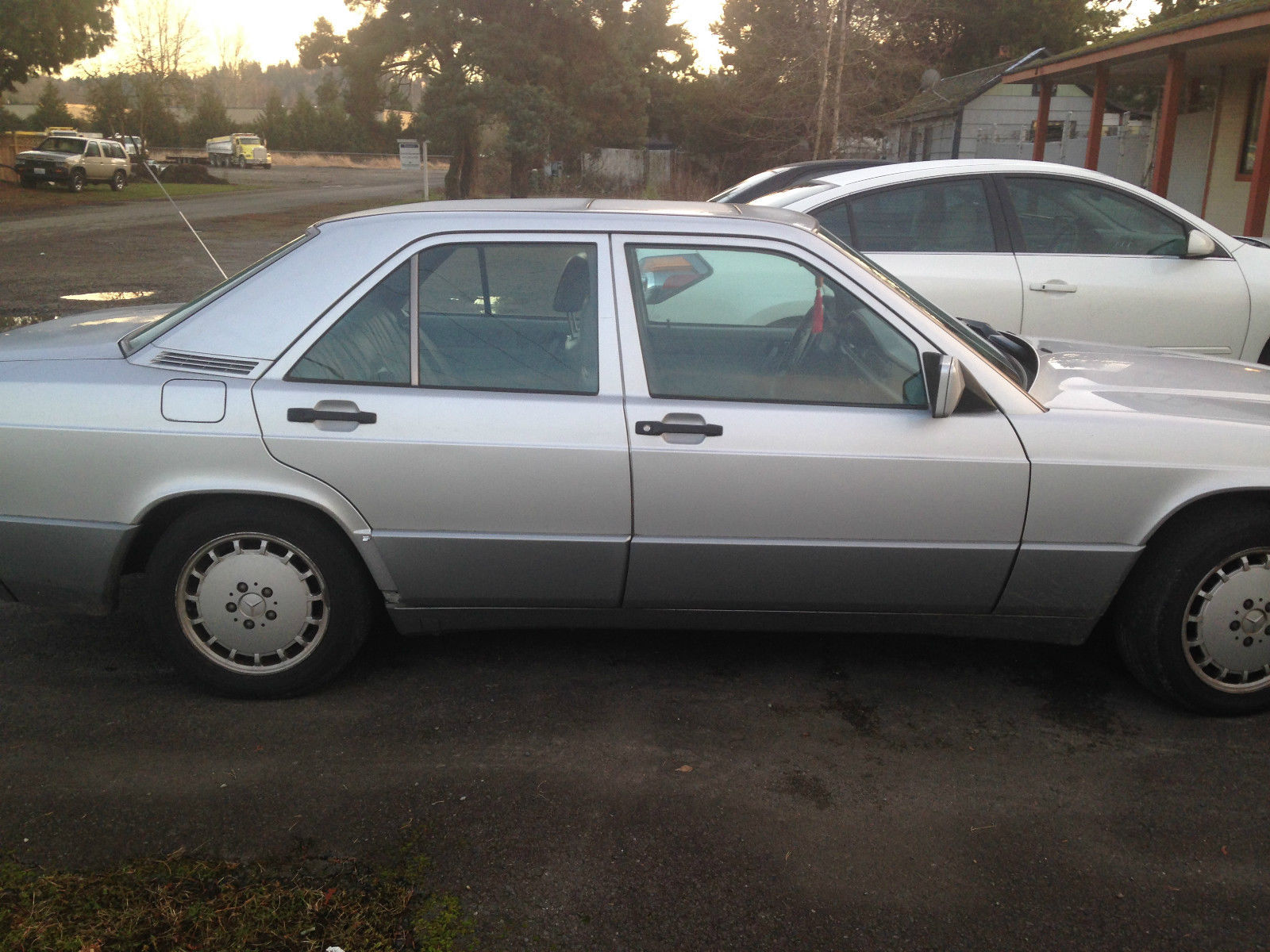 1992 mercedes benz 190e 2 6l 123 000 miles for sale in for Mercedes benz mileage