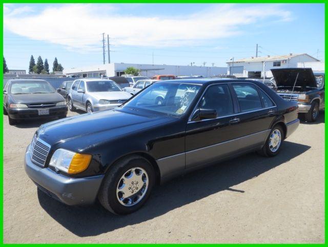 Mercedes Benz Of Anaheim >> 1992 Mercedes-Benz 500SEL 5.0 Used 5L V8 32V Automatic Sedan Premium NO RESERVE