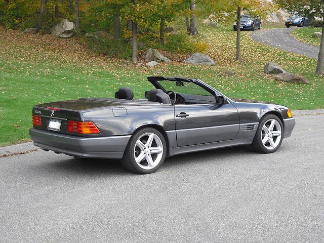 1992 mercedes benz 500sl convertible 5 0l v8 sl500 for sale in brewster new york united states. Black Bedroom Furniture Sets. Home Design Ideas