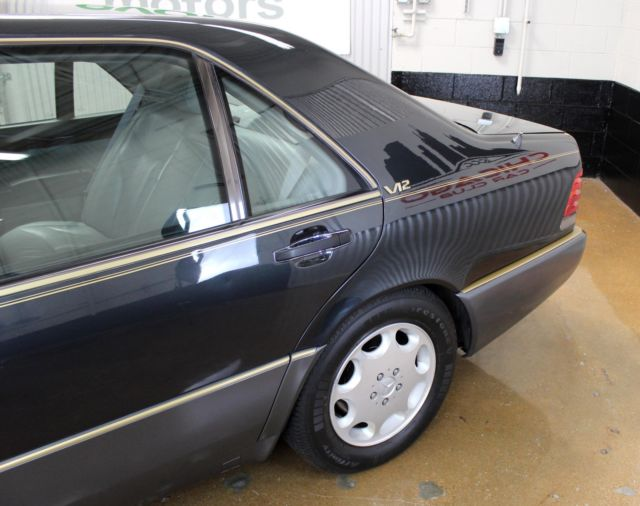 1992 mercedes benz 600 series 600sel v12 for Mercedes benz 600 series