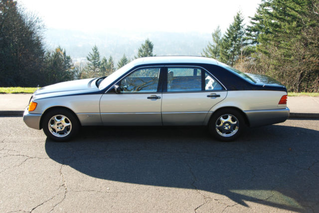 1992 mercedes benz 600sel v12 w140 low miles 82k for Mercedes benz portland or