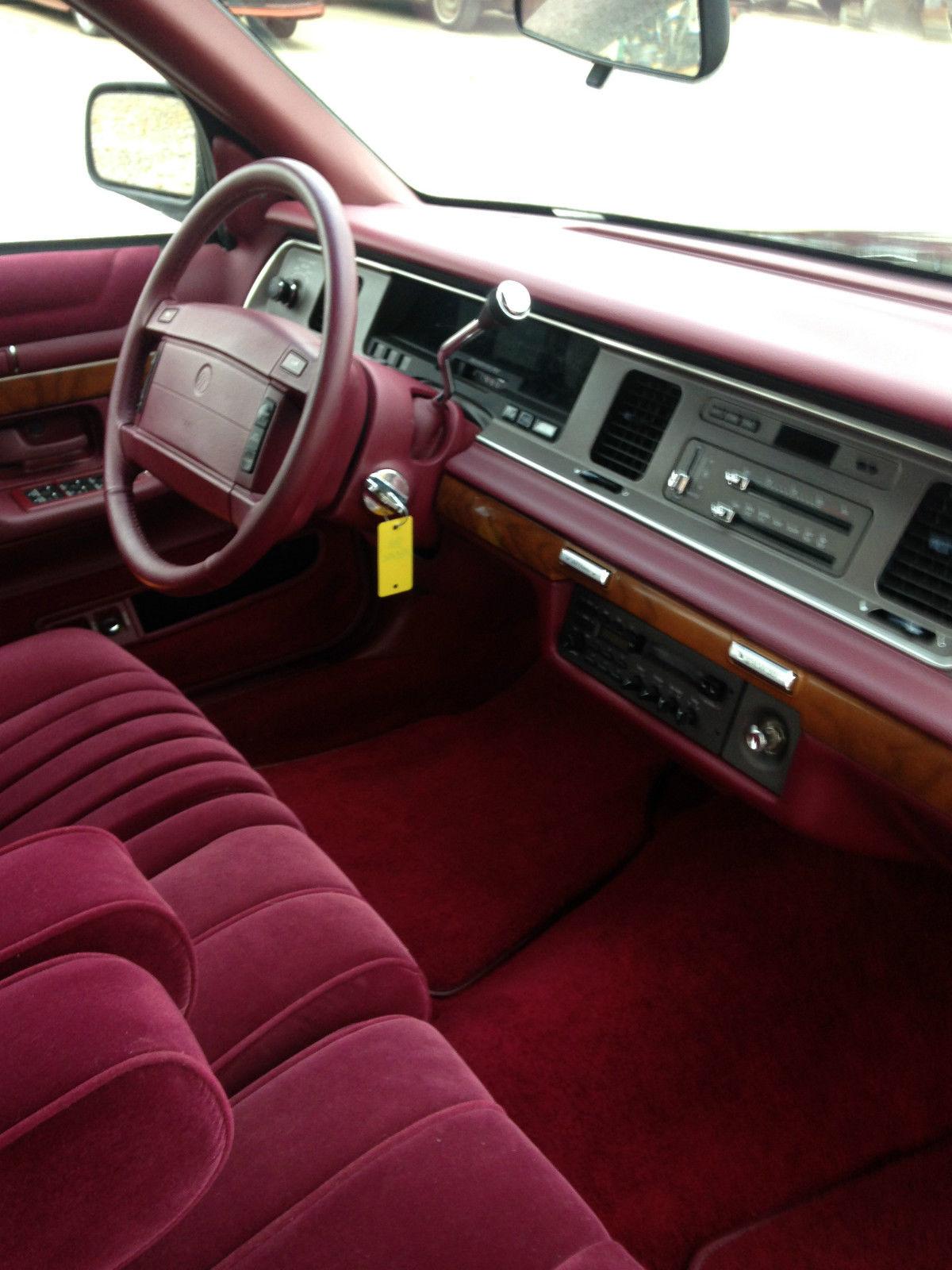 1992 mercury grand marquis ls sedan 4 door 4 6l rare low miles 1 595 miles