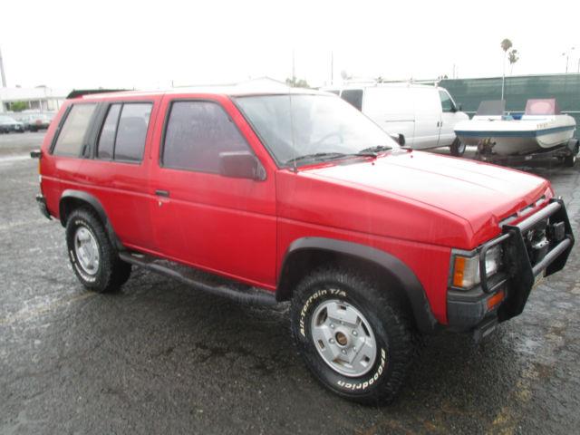 1992 nissan pathfinder se sport utility 4 door 3 0l no