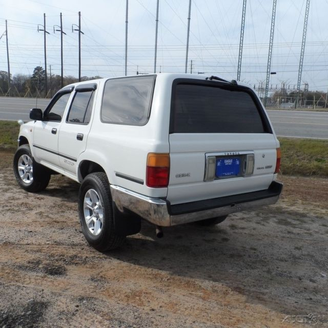 Used Toyota 4 Runner: 1992 SR5 Used 4cyl 3.0 Automatic 4WD SUV Right Hand Drive