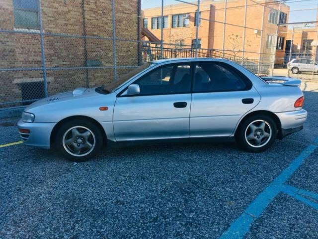 1992 Subaru Impreza Wrx Gc8 Silver 5 Speed 4 Door Jdm Rhd Ej20