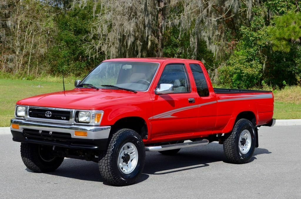 1992 Toyota Pickup Xtra Cab Sr5 V6 4x4 5 Speed Manual 3vz E Hilux Tacoma Reserve For Sale Photos Technical Specifications Description