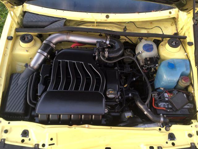 1992 Volkswagen Corrado Slc 24v Vr6 Jasmine Yellow K1d Dp