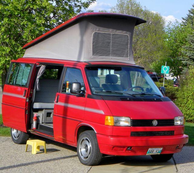 1992 volkswagen eurovan westfalia vw - rare - full camper van