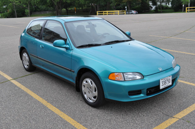 1993 93 honda civic si excellent condition for sale in for 1993 honda civic window trim