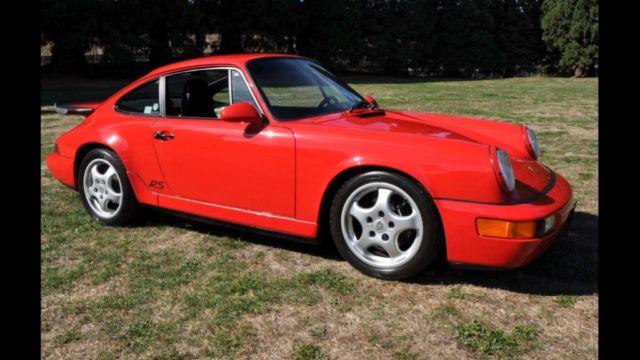 1993 964 porsche rs america like new for sale in salem for Carrera motors bend oregon