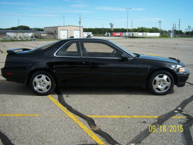 Acura Legend LS Coupe Black On Black Oem Wheels - 1993 acura legend for sale