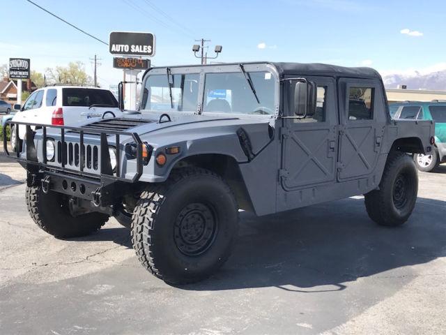 Humvee For Sale Utah >> 1993 AM General Humvee M998 Hummer H1 Military X Doors New Interior New Paint