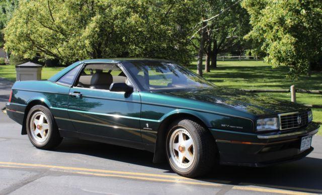 Red Noland Cadillac >> 1993 CADILLAC ALLANTE, HARD TOP, POLO GREEN, 2500 MILES ON NEW CRATE MOTOR for sale: photos ...