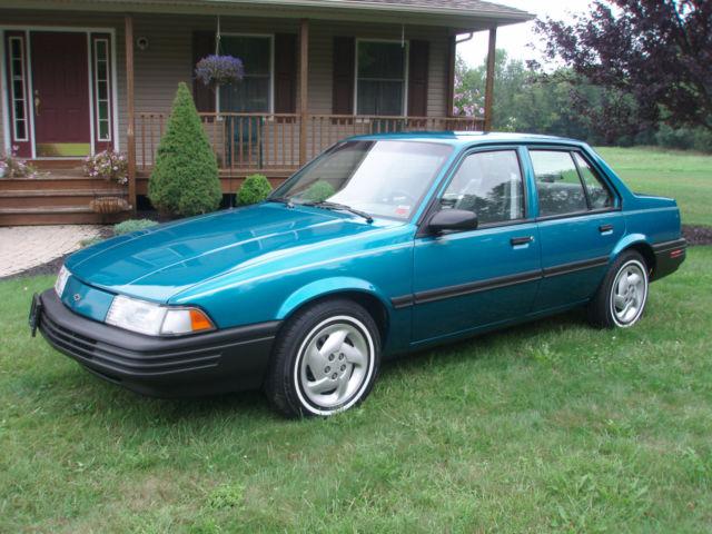 1993 Chevy Cavalier 12 000 Orig Mi Pristine Condition