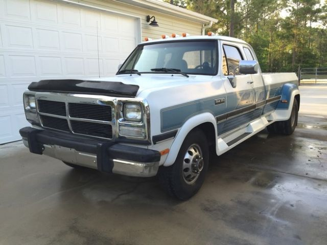 1993 Dodge D350 Club Cab 2wd Auto Cummins Dually 145k ...