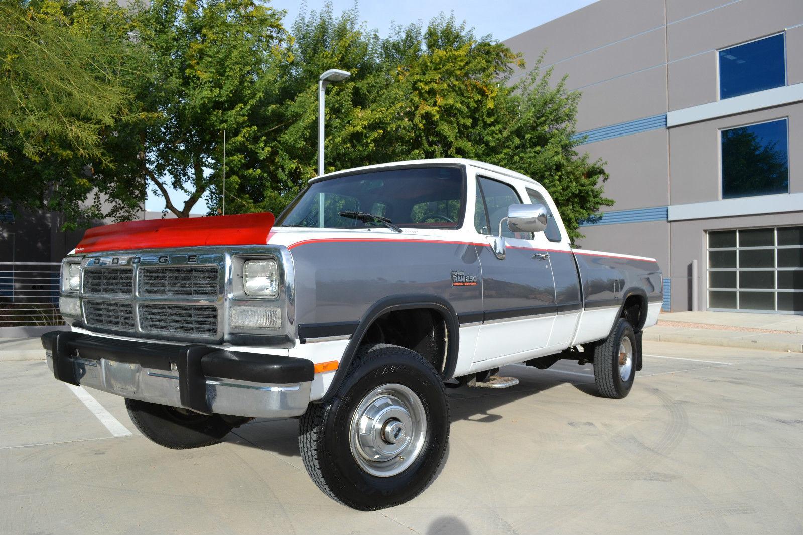 1993 Dodge Ram 2500 4x4 Diesel Auto LE Low Miles 1 OWNER ...