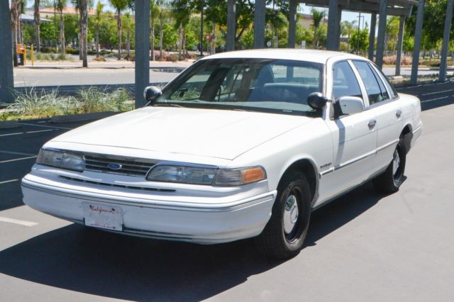 1993 Ford Crown Victoria Police Interceptor