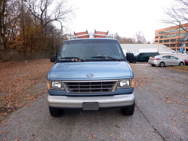1993 ford e 350 cargo surveillance van one owner very low miles no reserve. Black Bedroom Furniture Sets. Home Design Ideas