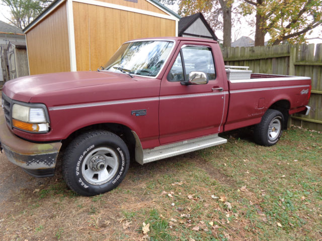 1993 Ford F150 Accessories >> 1993 Ford F 150 4x4 Pickup Truck Only 51 000 Miles Lots Of